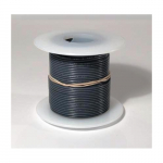 25 ft. 22 AWG Solid Wire - Grey