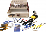 Deluxe 25 pc. Electronic Technician Tool Kit