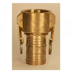 (APG) Part C (Female Coupler X Hose Shank) Brass