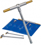 "5/16"" - 6"" Titanium Coated Telescoping Gage Set"