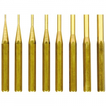 8 Pieces Brass Drive Pin Punch Set