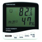 Temperature-Humidity Monitor with Jumbo Display
