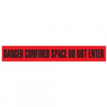 """Danger Confined Space Do Not Enter"" Tape"