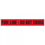 """Fire Line - Do Not Cross"" Barricade Tape"