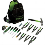 0159-17ELEC Open Tool Carrier Kit, 17-Piece Tool