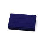 25 Place Blue Microscope Slide Box