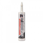 10.1oz. White Silicone Plumbers Caulk, Cartridge