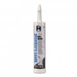10.1oz. Clear Silicone Plumbers Caulk, Cartridge
