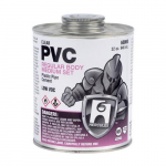8 oz. PVC Cement, Clear, Dauber in Cap