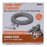 Johni Ring Wax Gasket and Johni Quick Bolt