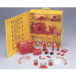 Industrial Lockout/Tagout Station