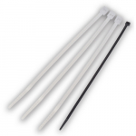 Cable Tie, 17in,120Lb,Natural Nylon