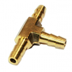 "1/4"" Brass Hose Barb Tee Manifold Fitting"
