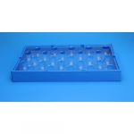 25 Position Insert Tray f/Vial Rack
