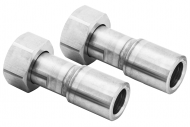 "M24x1.5 Female to Tube 1/2"" 2 Adapters"