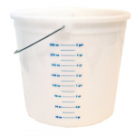 10 qt. Plastic Pail with Graduations