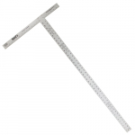 "48"" Heavy-Duty Aluminum T-Square Ruler, 2 pcs"
