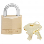 "1-3/16"" Wide Solid Brass Body Padlock"