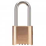 "2-1/4"" Brass Combination Padlock (no Key is included)"