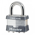 No. 21 Wide Laminated Steel Padlock, No Cylinder