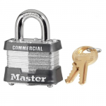 No. 3 Laminated Steel Safety Padlock, Keyed Alike