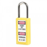 No. 411 Yellow Zenex Thermoplastic Safety Padlock