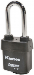No. 6121 Weather Tough Steel Padlock, Anti-Bump