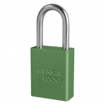 No. A1106 Anodized Aluminum Safety Padlock