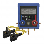 2-Way Digital Manifold and 2 Thermocouples