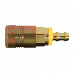 Hose Barb P Style Push On and Lock Coupler, 3/8""