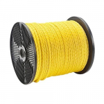 "3/8"" x 300' Twisted Polypropylene Pull Rope, Spool"