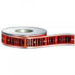 """Caution Buried Electric L.B."" Detectable Tape"