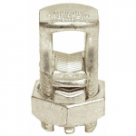 #2 AWG Split Bolt Connector with Spacer Dual Rated