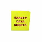 """Safety Data Sheets"" Binder"