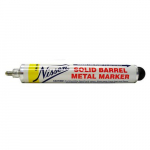 "1/8"" Solid Barrel Metal Marker, Yellow"