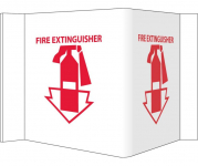 """Fire Extinguisher"" Sign"