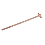 "1/2"" x 12"" Copper Plated-Milford Hanger"
