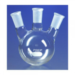 3-Neck Distilling Flask Angled 24/40 Taper, 500ml