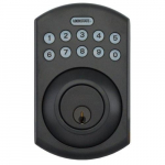 LockState Electronic Keypad Deadbolt, Bronze