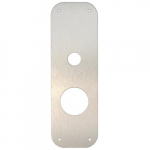 ResortLock Deadbolt Cover Plate, Silver
