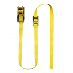 15' Ratchet Boom Strap with D-Ring