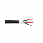 4C/14 AWG Stranded Cable, Black
