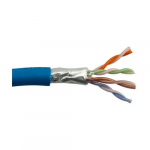 Cable Cat5e Shielded Plenum 350 Mhz 24AWG Solid BC