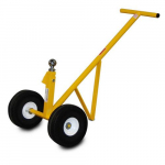 "10"" Airless Wheels All-Terrain Trailer & Equipment Mover Cart, 500lb. Capacity"