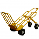 "10"" Airless 6 Wheel All-Terrain Hand Cart, 1000lb. Capacity"