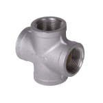 "2-1/2"" Stainless Steel Threaded Cross"