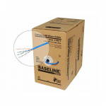 Baseline Cat5E Cable, 4 Pair, UL, UTP, CMR, 1000ft
