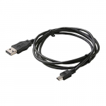 3 Feet USB-A to Mini B 2.0 Patch Cable