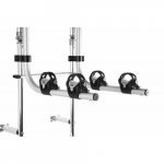 "13"" Double Bikes Rack for Outdoor RV Ladder"