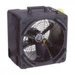 Windshear Sidedraft 115V 3000 CFM Black Portable Blower Fan